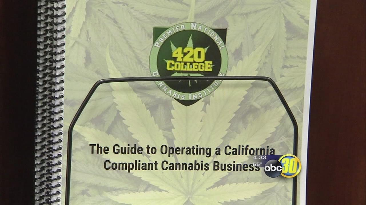 Fresno business training people to run a successful marijuana dispensary