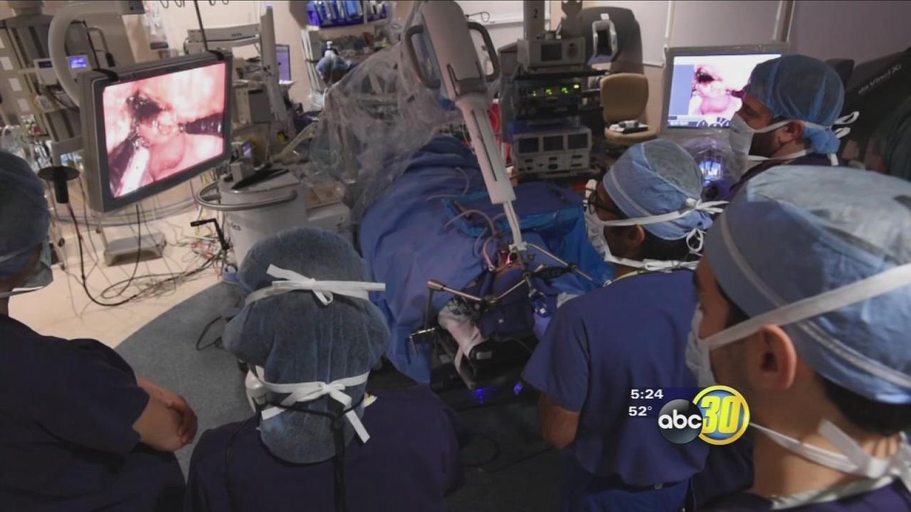 Robotic Snake Treats Head and Neck Tumors