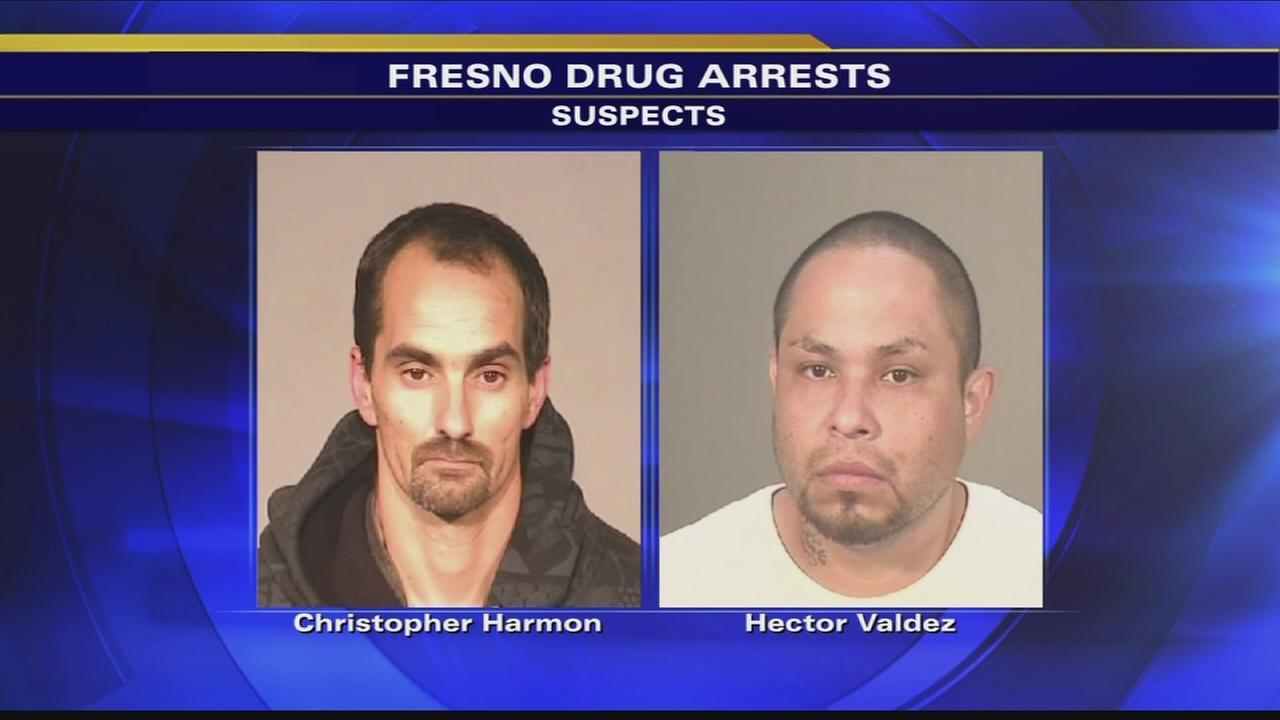 Fresno traffic stop leads to meth bust, illegal gun ...
