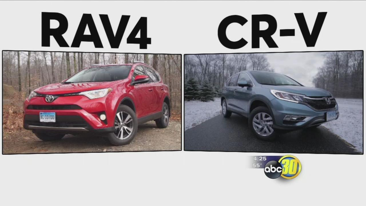 Toyota RAV4 vs. Honda CR-V