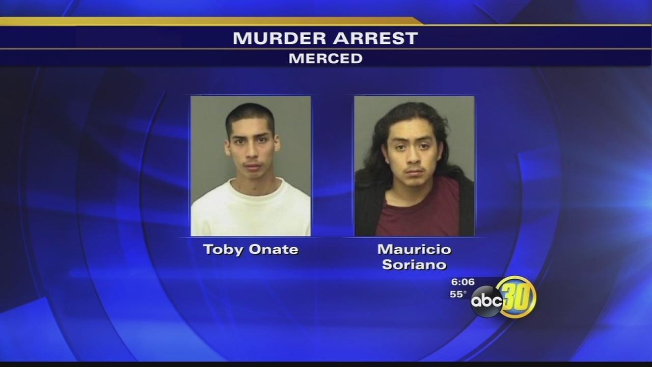2 suspects arrested accused of deadly stabbing in Merced last year