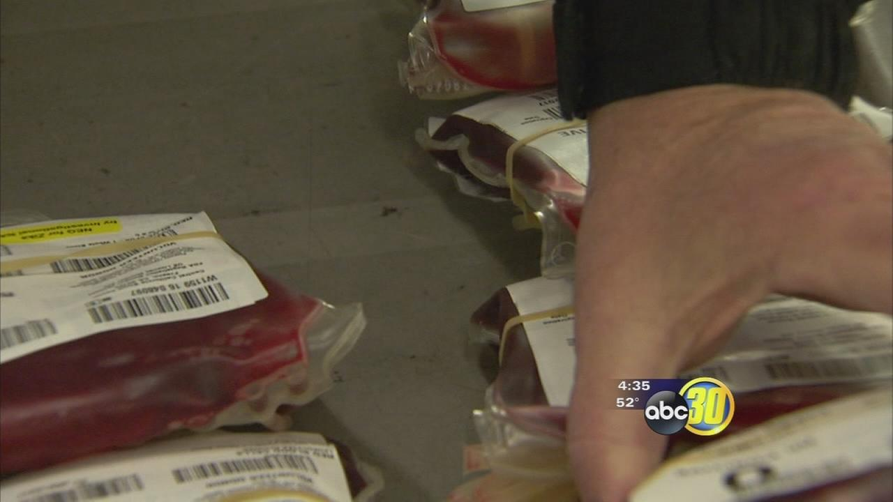 Weather having impact on blood banks as they are facing the worst deficits in 30 years