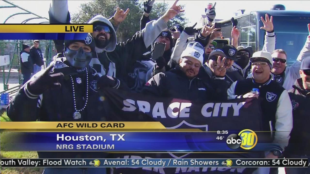 Raider Nation invades Houston