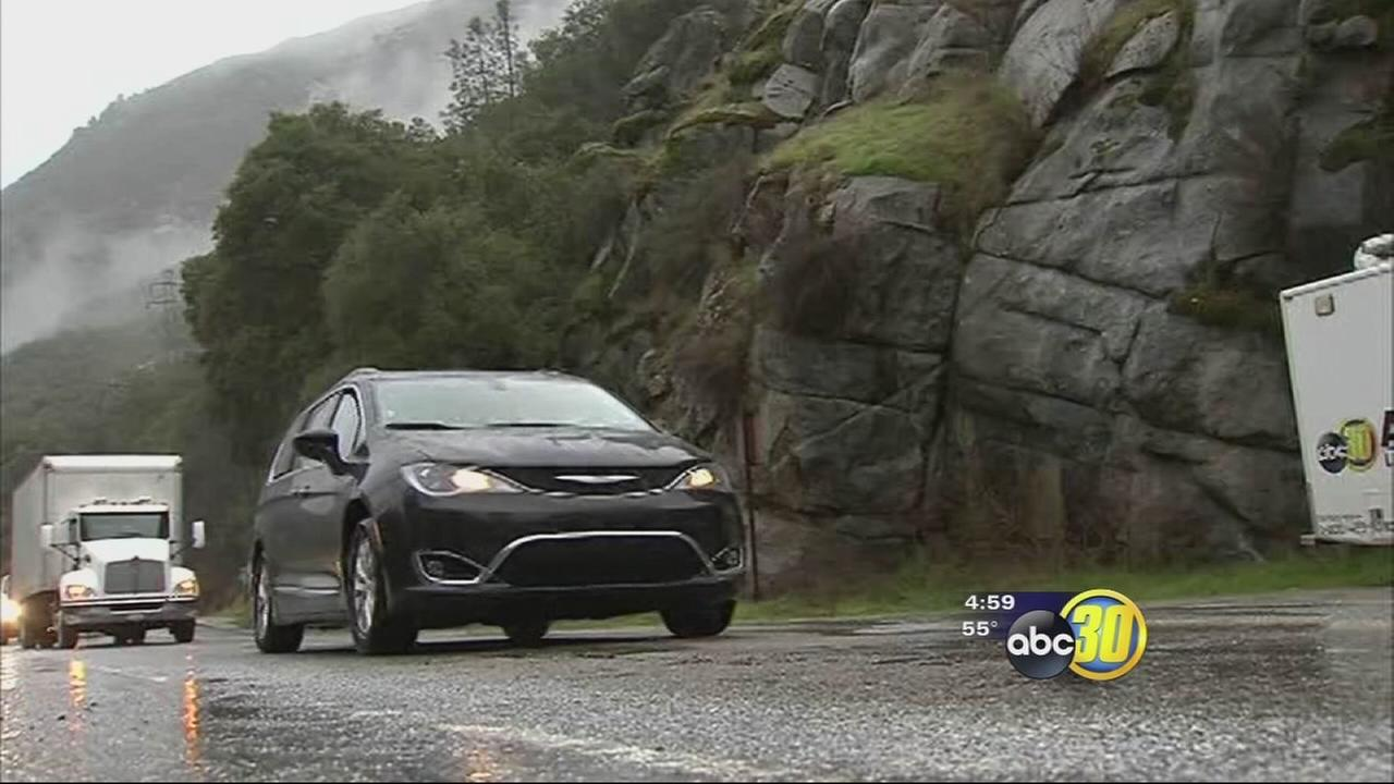 Highway 140 into Yosemite back open after rockslide, will close tonight due rockfall concerns