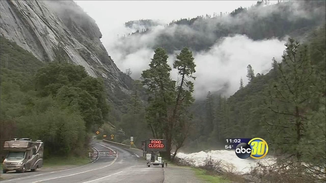 Highway 140 into Yosemite reopens