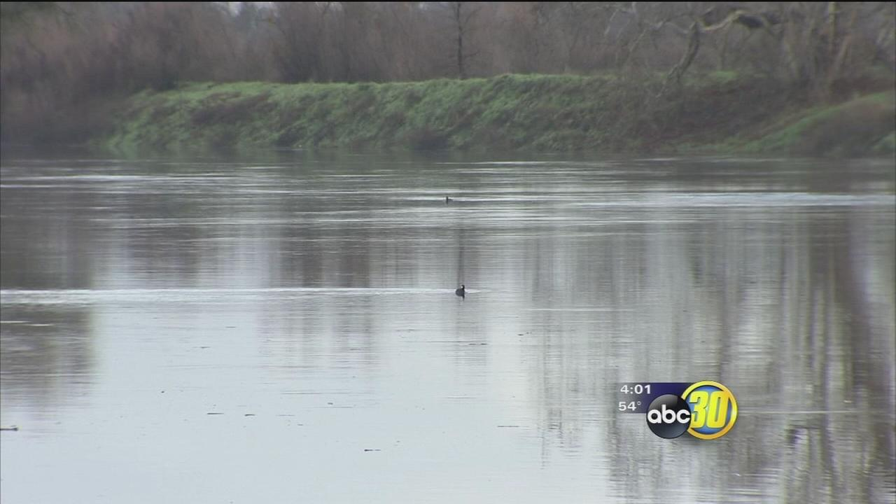 Water levels for San Joaquin River are highest in years due to downpours and runoff