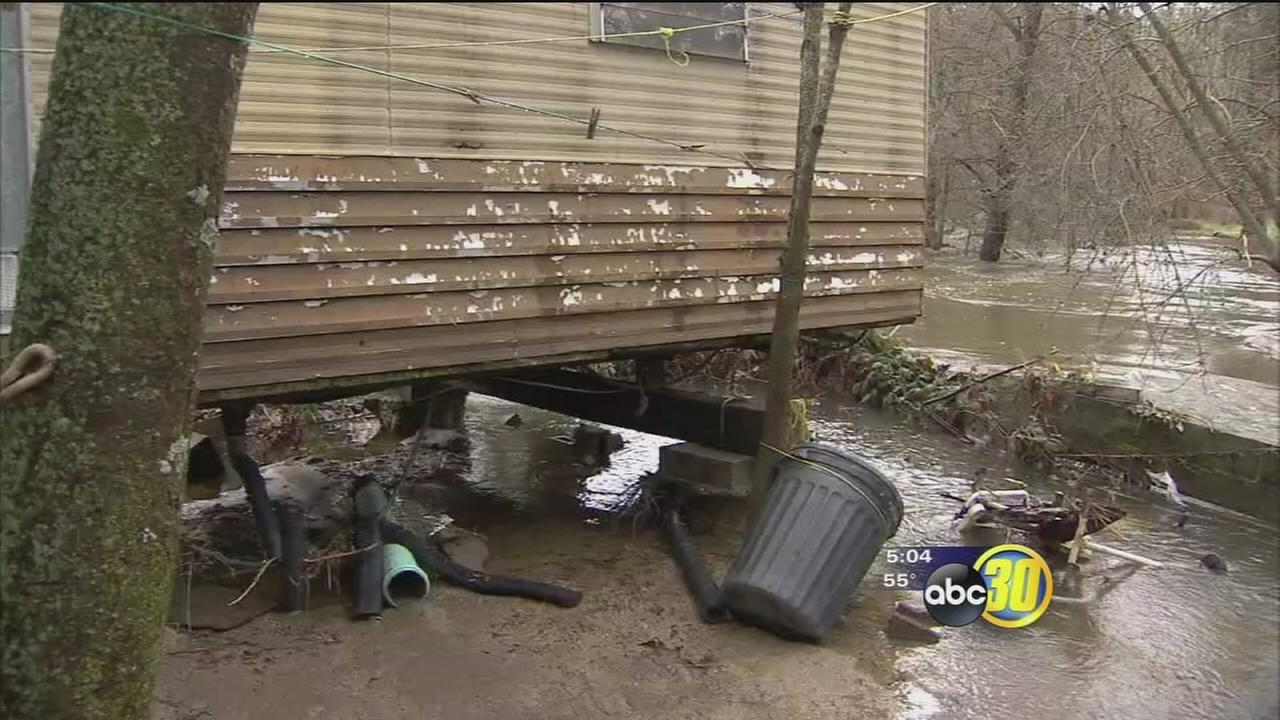 Homeowners in North Fork still waiting to return home after evacuations due to flooding