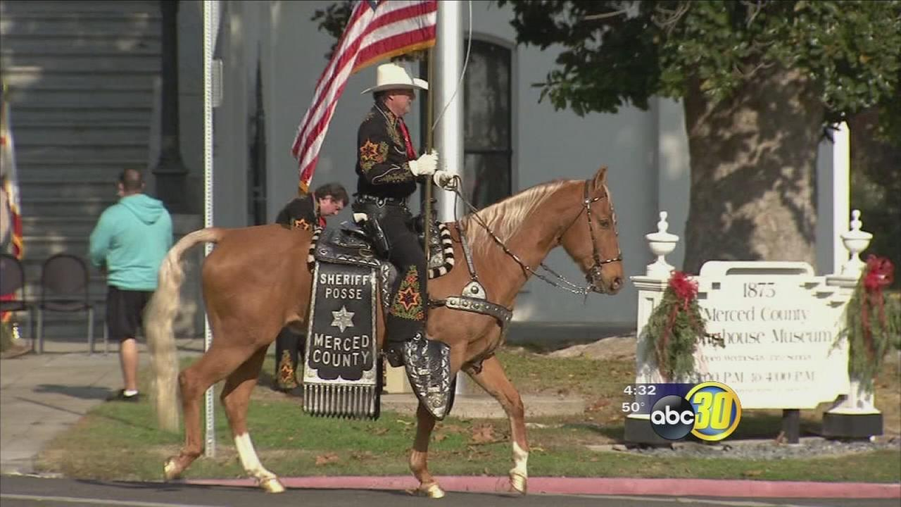 Generosity from North Valley residents helped send Merced County posse to inauguration