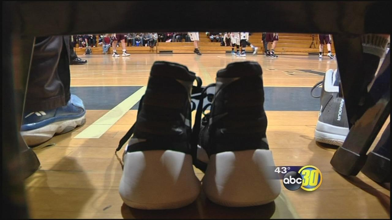 Basketball game turns into an emotional tribute for teen killed in accident near Oakhurst