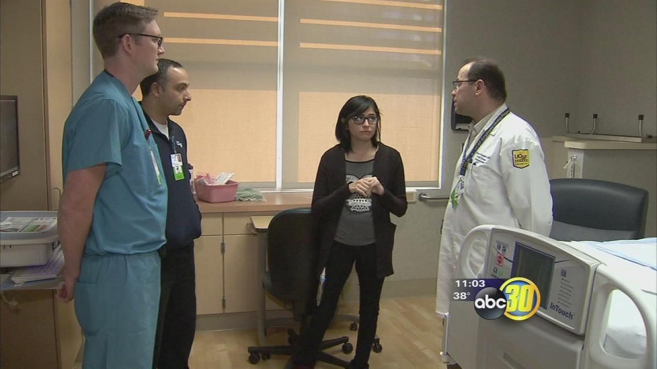 Brand-new, specialized medical team rescues Fresno woman from death