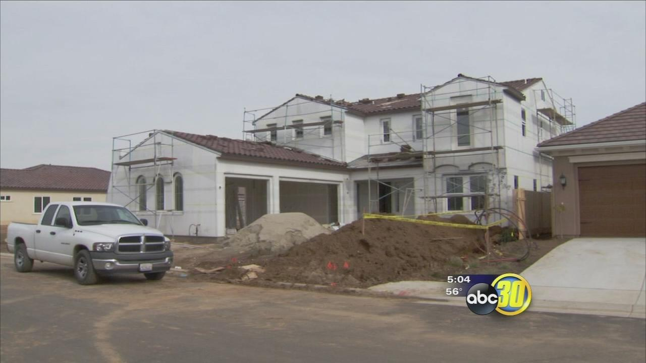 Progress marches on as news homes spring up throughout a growing Clovis
