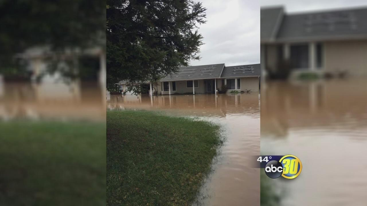 Clovis woman blames city for home flooding during storm