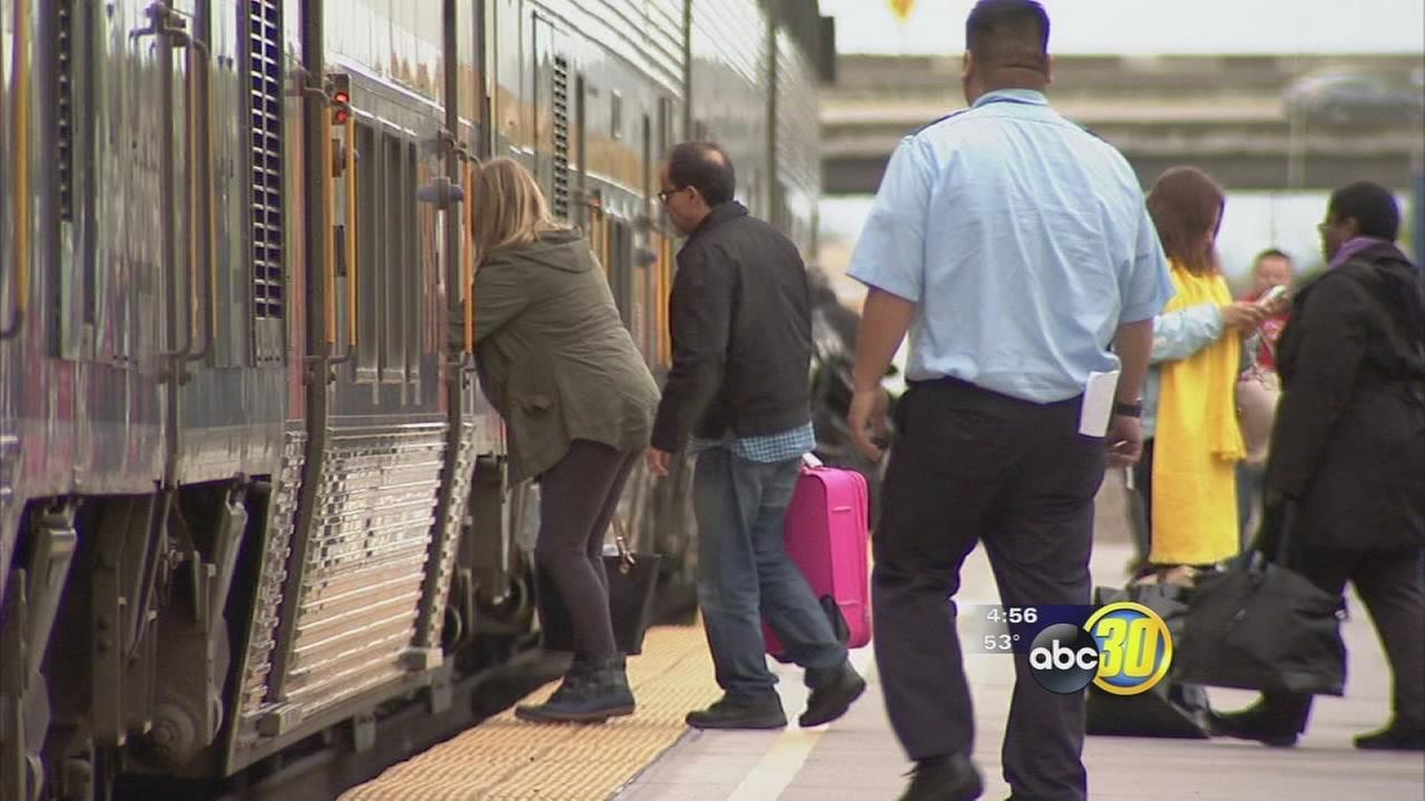 Amtrak officials seek public input for new Sacramento-Fresno train option