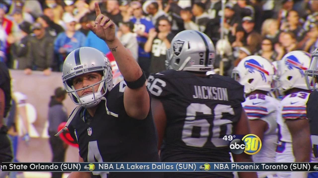 Derek Carr helps raises more than $100K for Valley Children?s Hospital