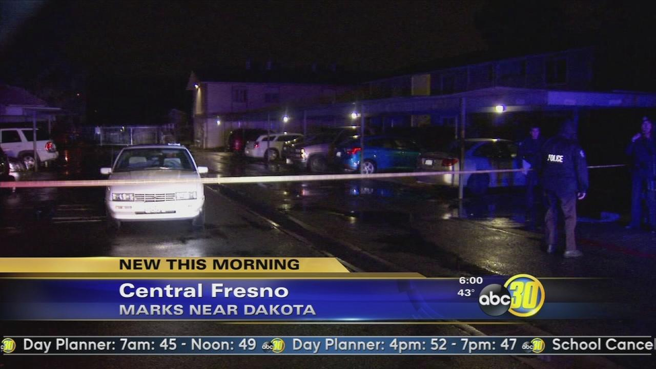 Man taken to hospital after stabbing in Central Fresno