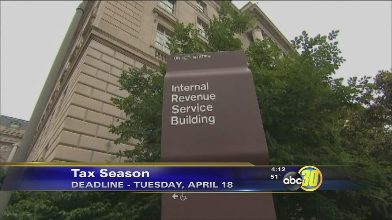 People get extra time to file this tax season