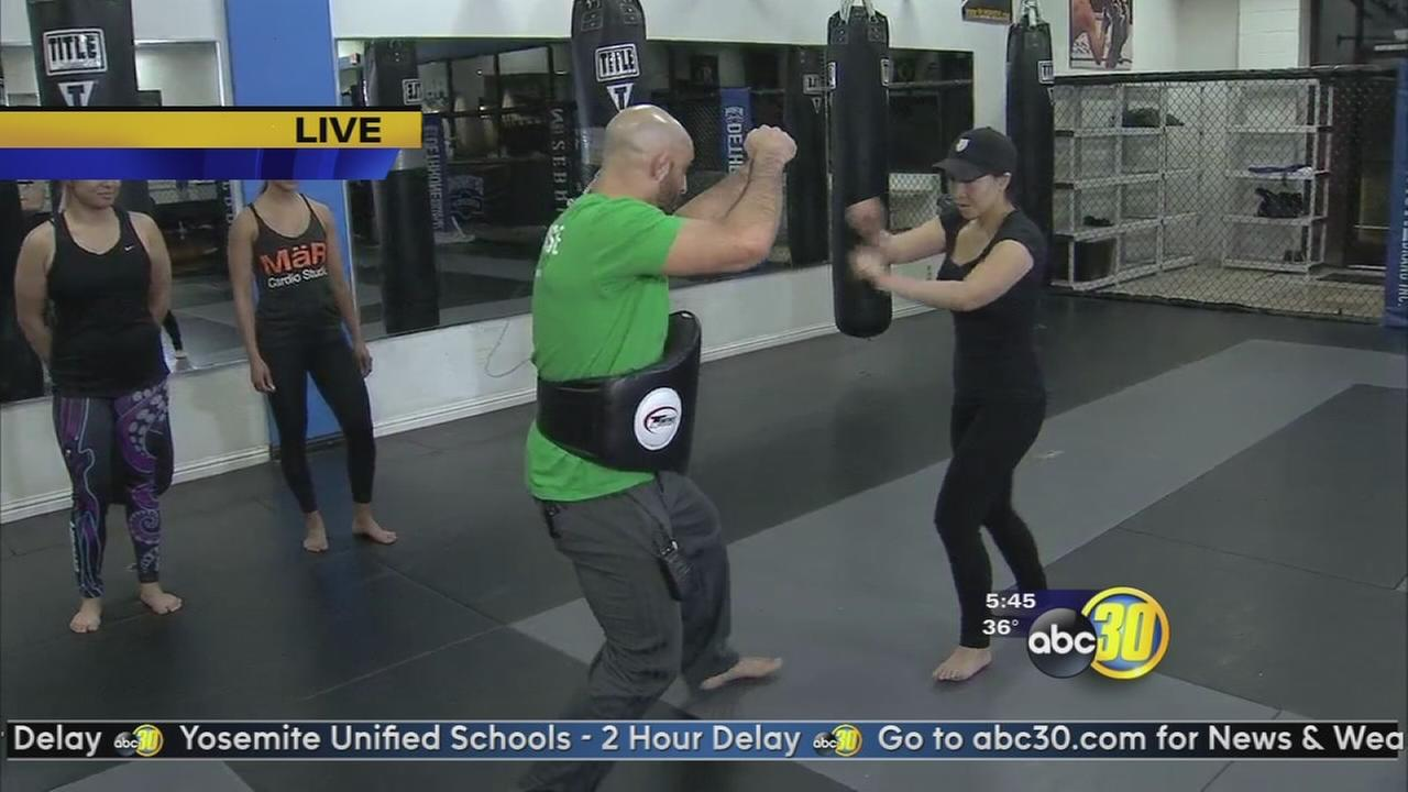 Local gym helping people work out while teaching life saving skills