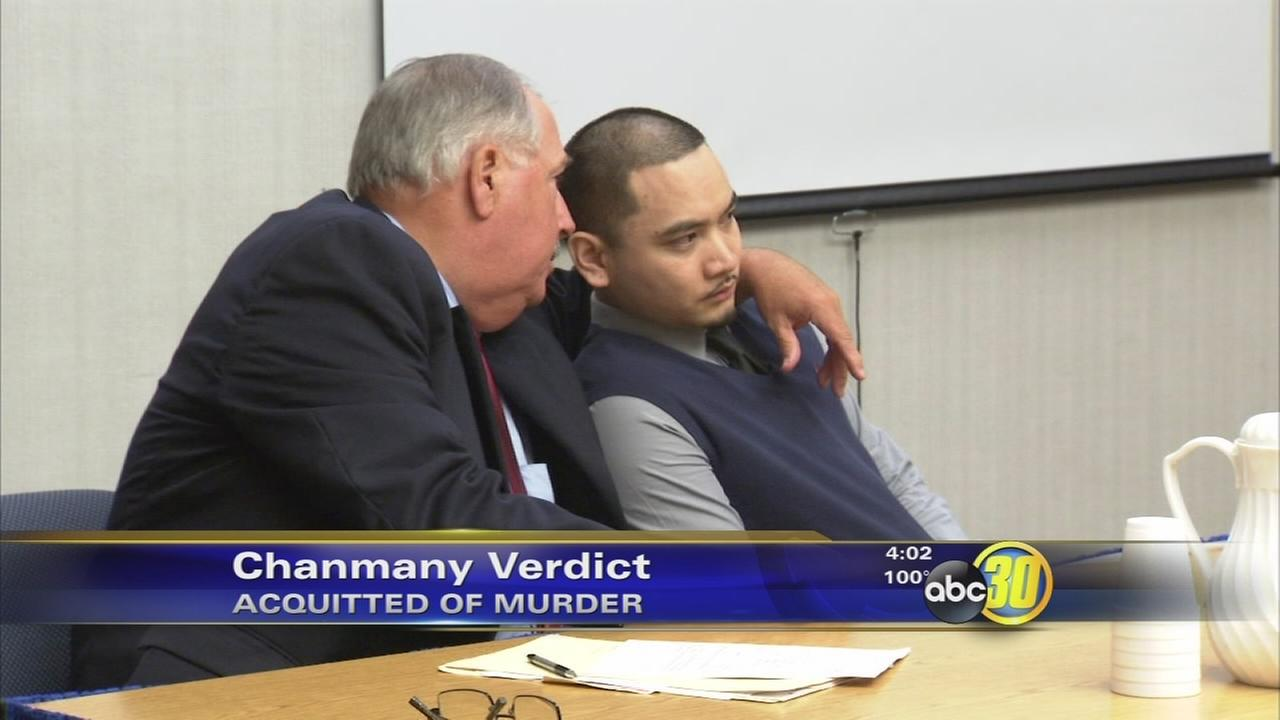 Ernie Chanmany acquitted in the of murder Sammy Mercado
