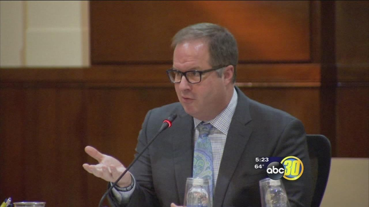 Last day on the job for Fresno Unified?s Superintendent Michael Hanson