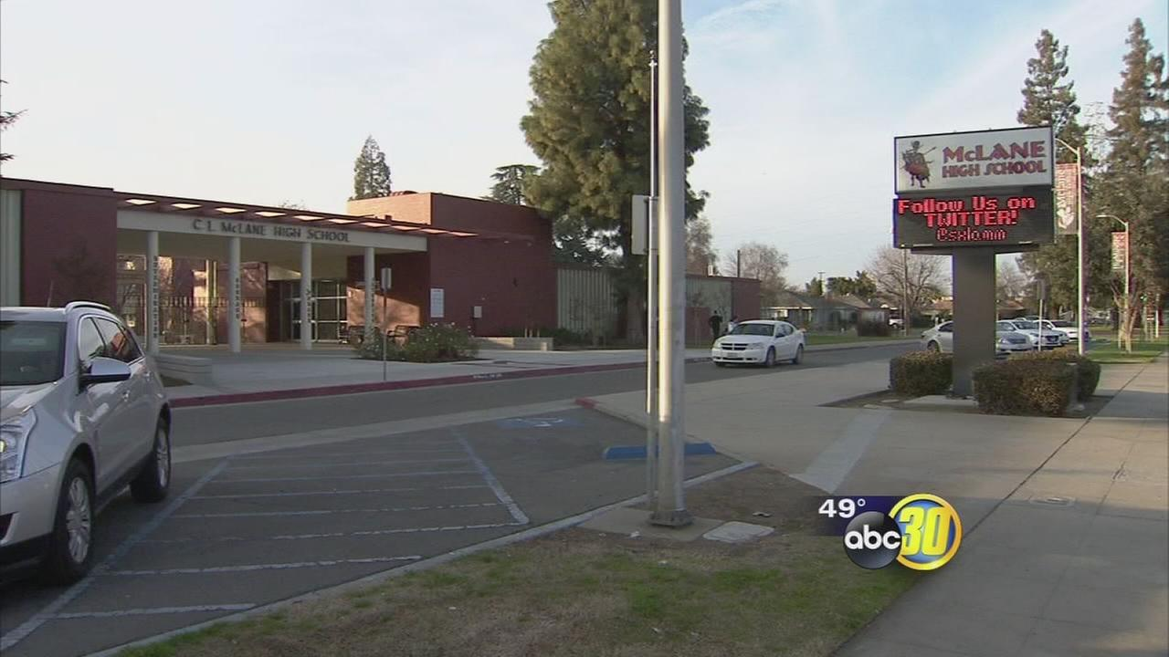 McLane High School art teacher recovering after allegedly being assaulted by student