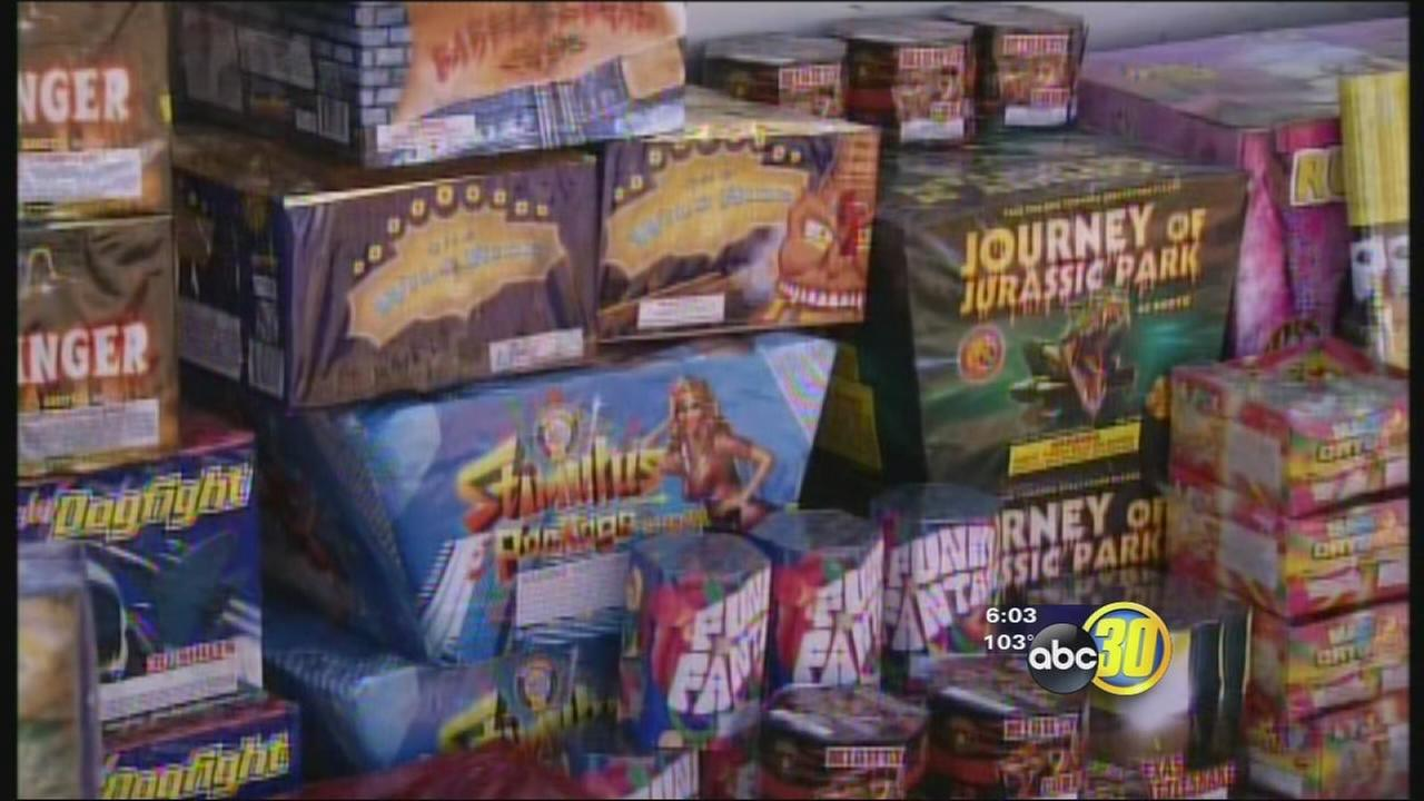 13,000 pounds of illegal fireworks seized in Tulare County