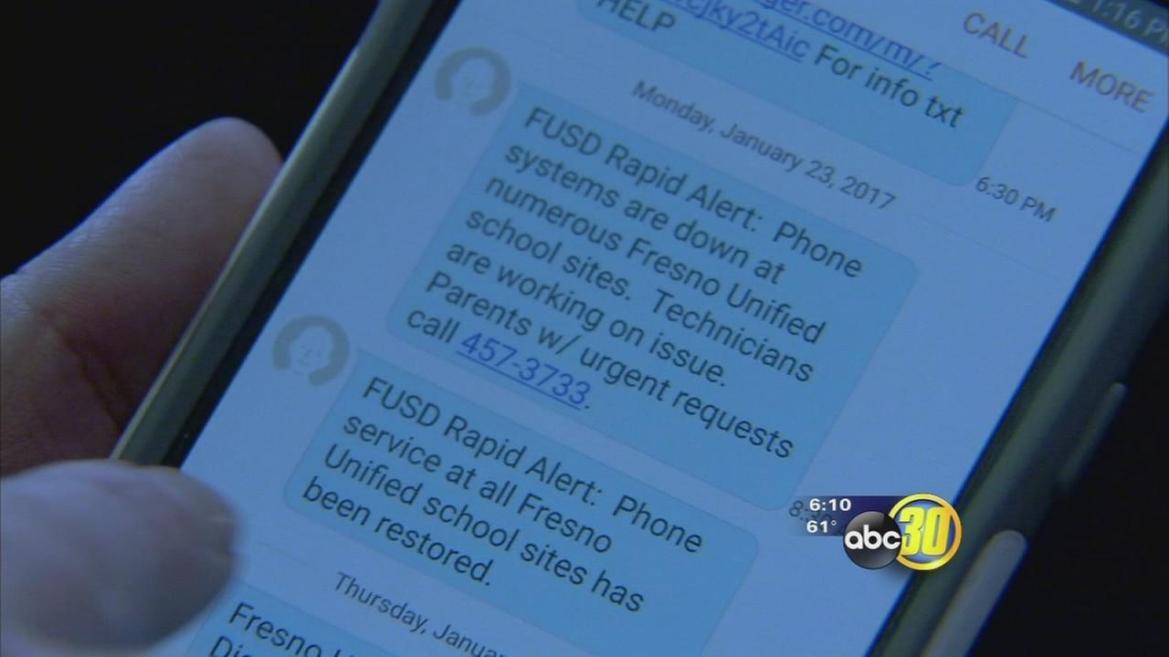 Parents of fresno unified students will have a new way to stay updated