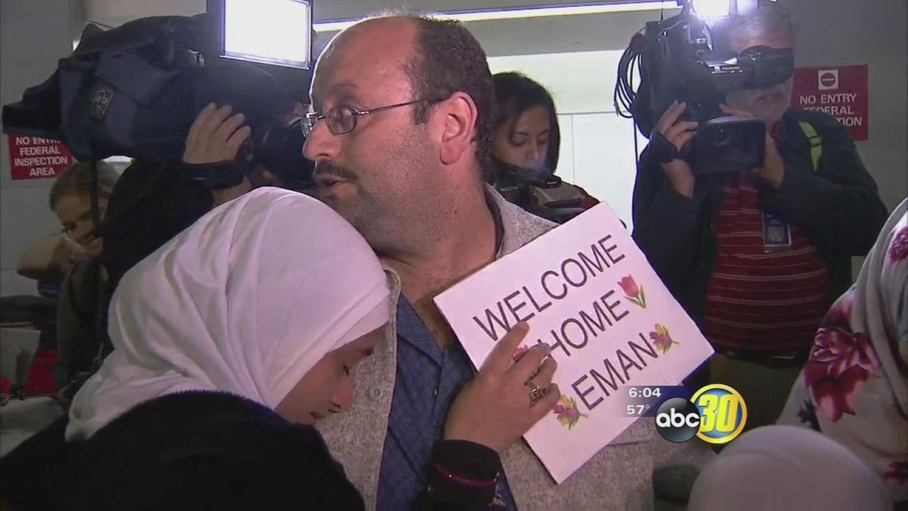 Los Banos family arrives in U.S. after travel ban stranded them in Africa