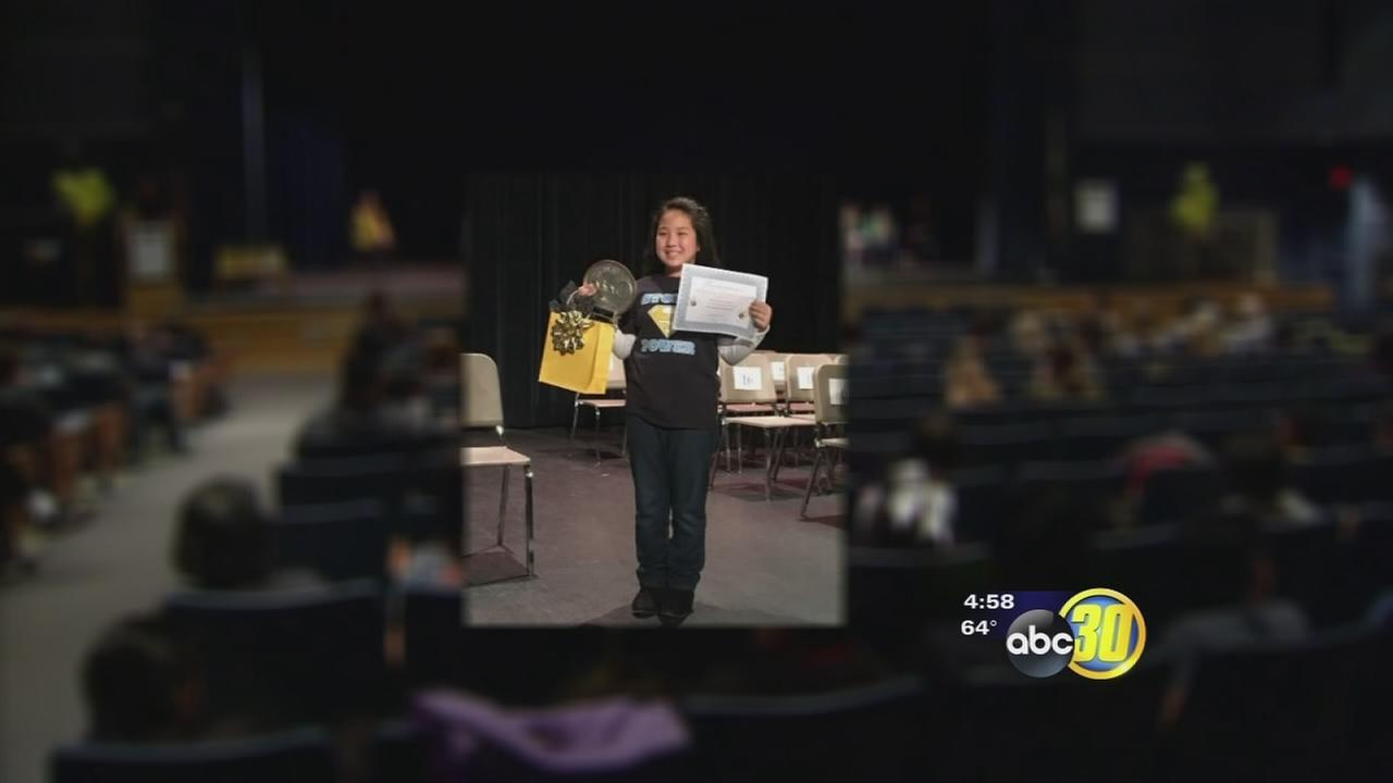 Southeast Fresno 5th grader proves she is Fresno Unifieds Spelling bee queen