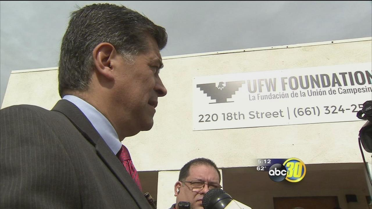 Californias new Attorney General visits South Valley to talk immigration