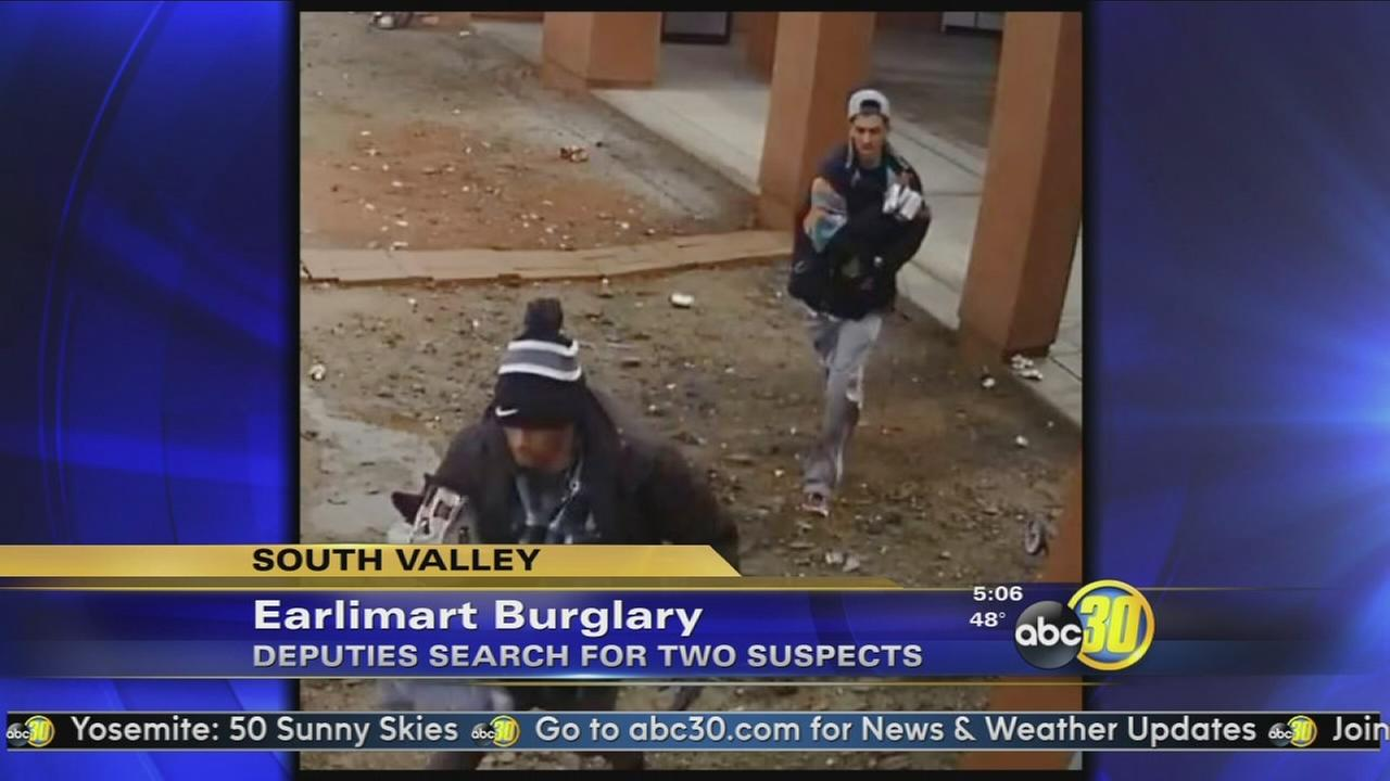 Sheriffs Office looks for two Earlimart burglary suspects