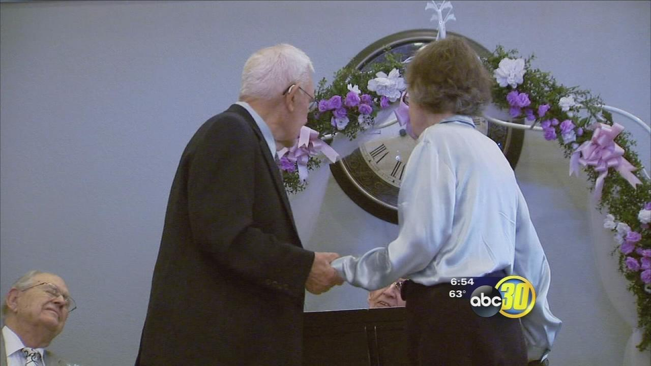 Fresno couples in their golden years decide renew their wedding vows on Valentine?s Day