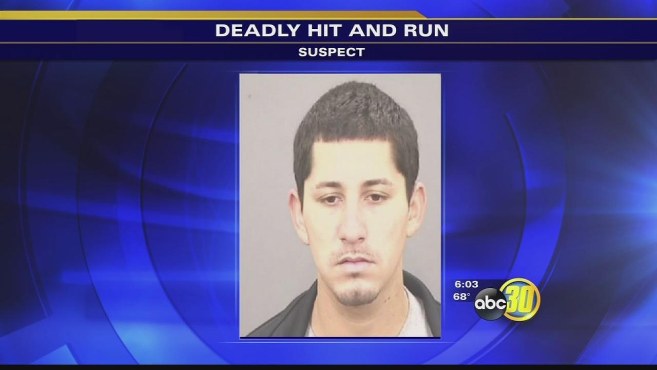 Fresno police arrested man accused of hit and run that left a pedestrian dead