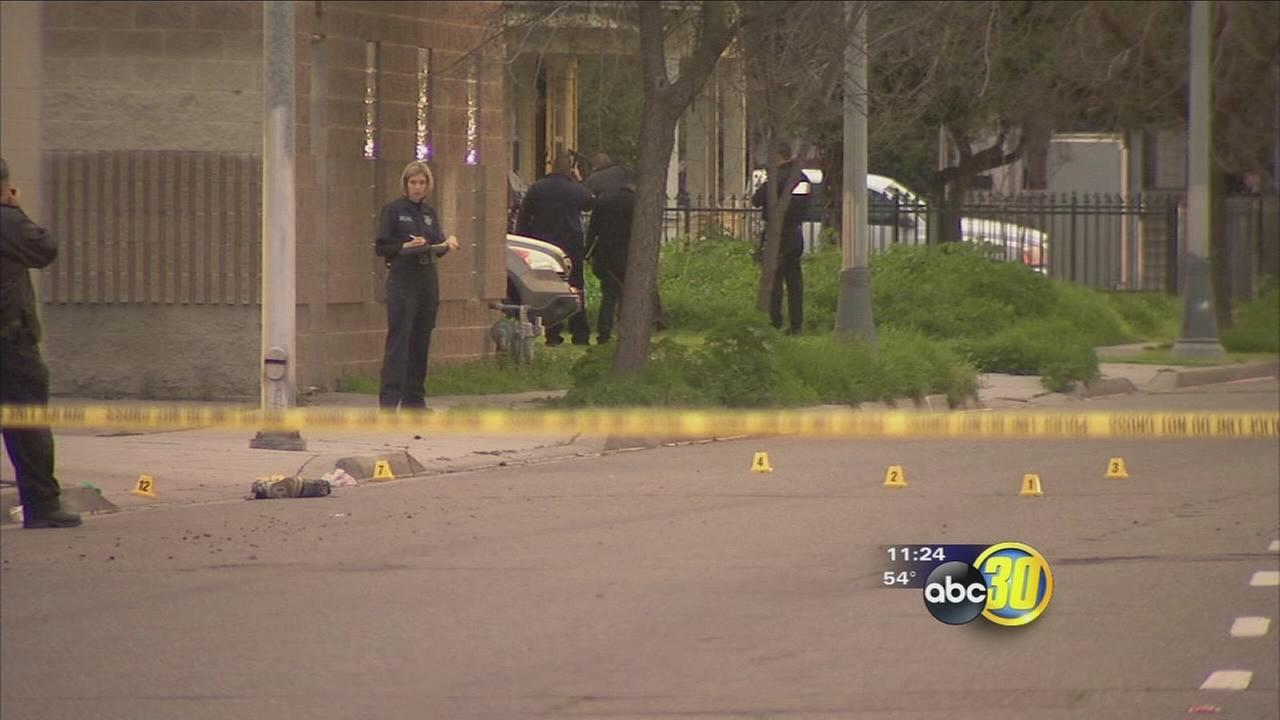 Police are investigating a shooting in Central Fresno