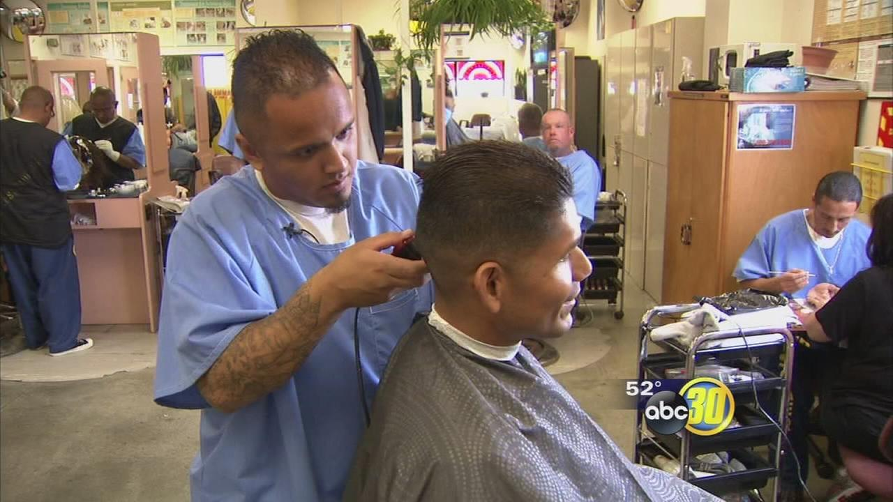 Some inmates at Chowchilla prison are finding redemption through beauty