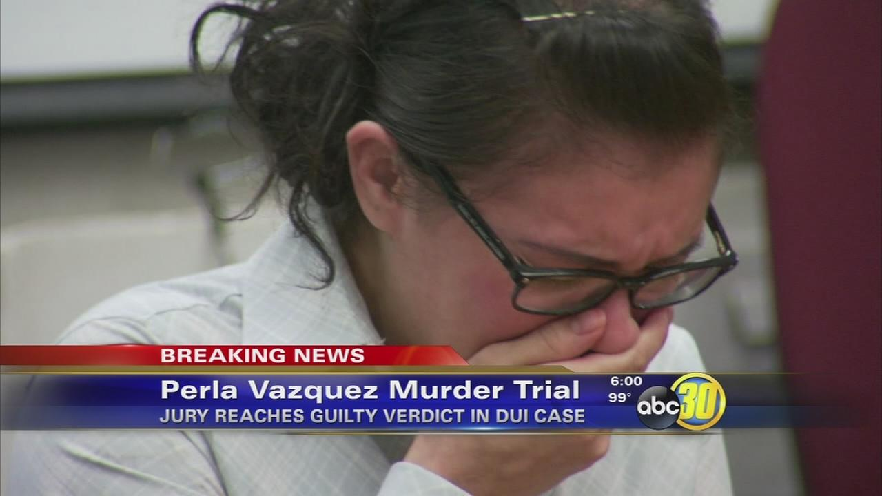 Perla Vazquez found guilty of murder in Fresno DUI crash