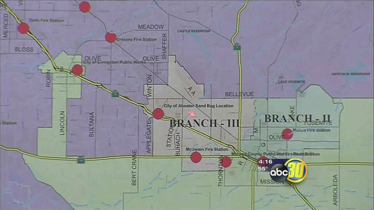 Merced County officials holds press conference on flood preparation