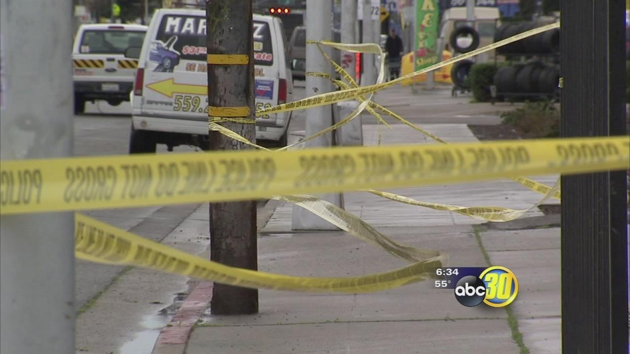 Fresno PD believe the death of a homeless woman and knife attack on a homeless man related