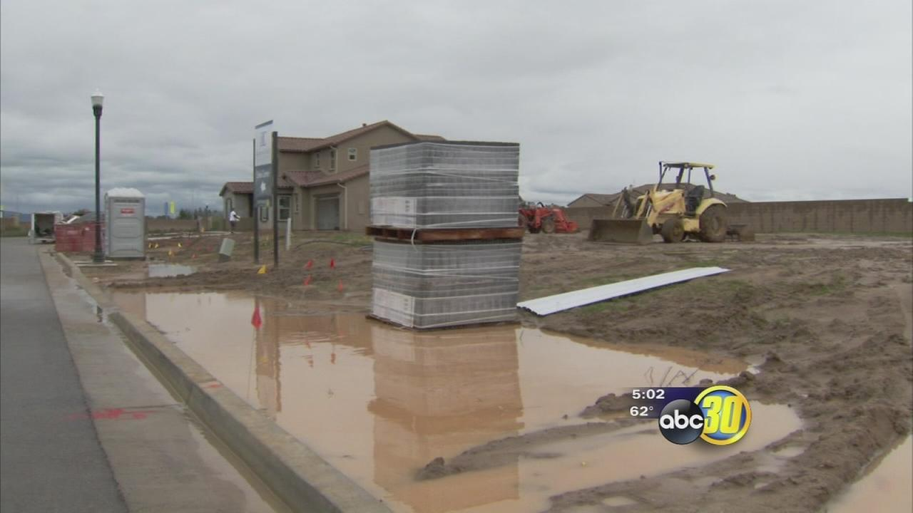 Wet weather impacting local construction industry