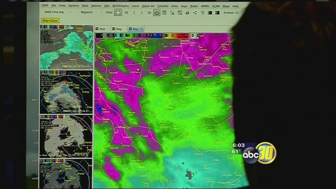 National Weather Service breaks down why South Valley gets less rain than other parts of Valley