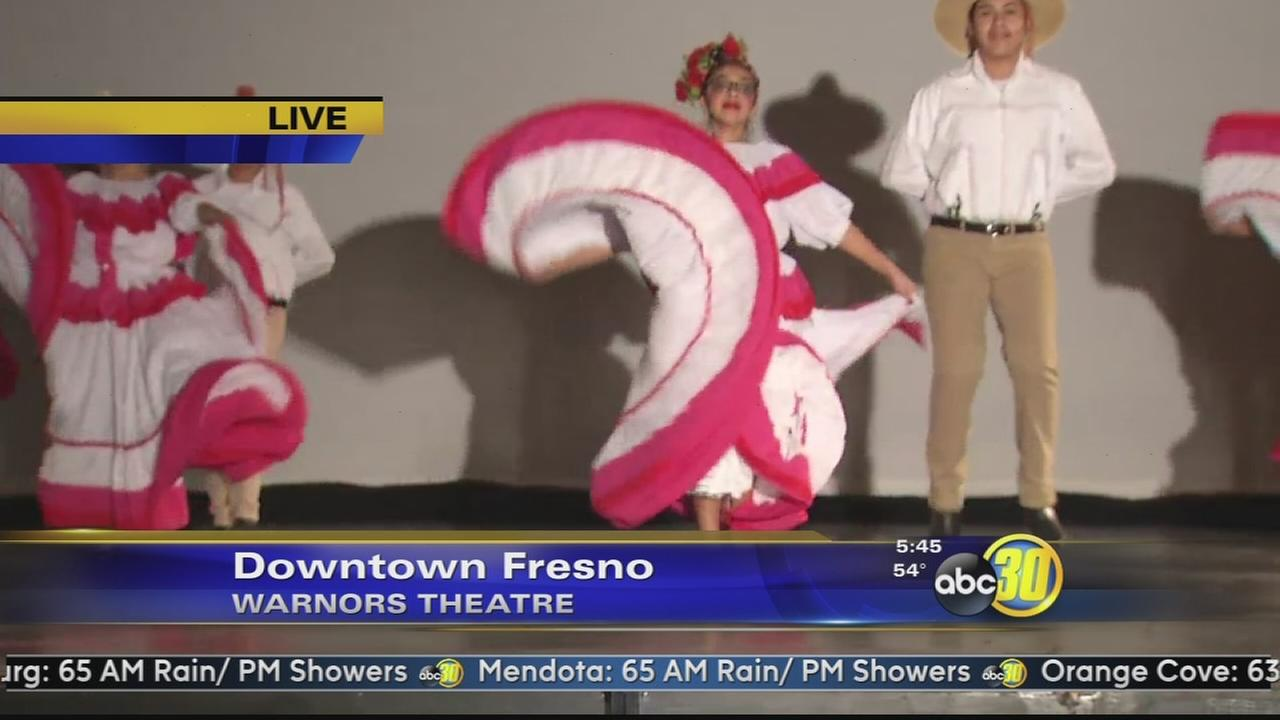 High School Showoffs features young Folklorico performers in Downtown Fresno