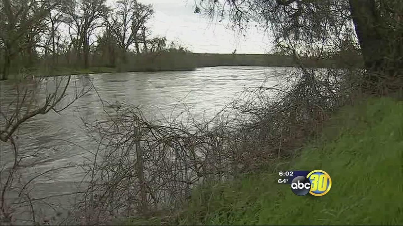 Merced County officials keeping close eye on water ways as most flow at capacity