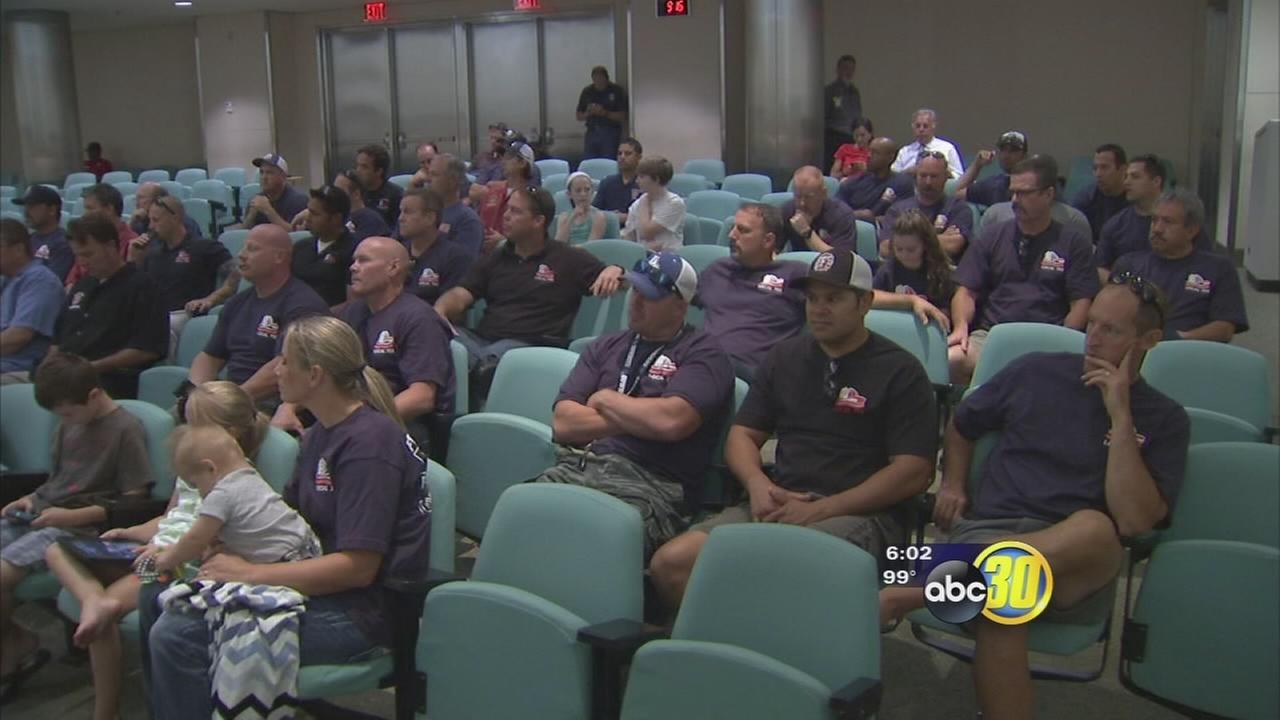 City imposes contract cuts on Fresno firefighters