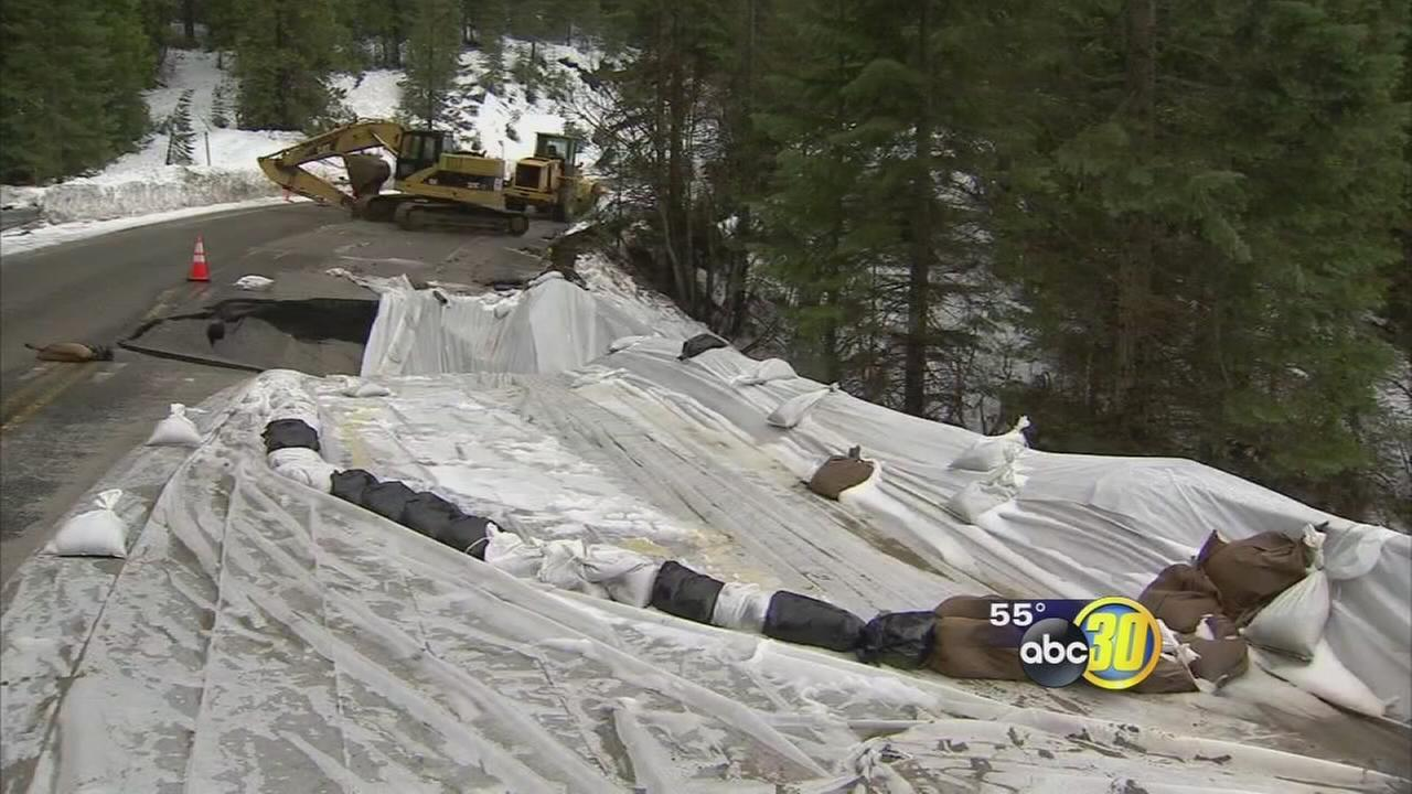 Highway 41 closed near Yosemite National Park entrance