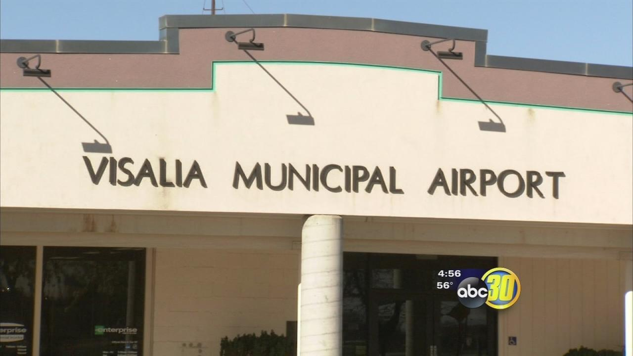 Commercial flights are no longer landing in Visalia