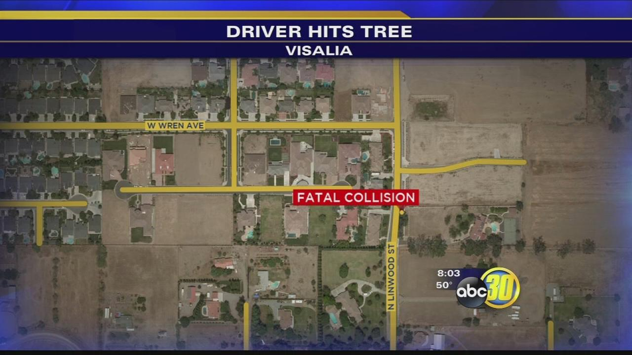 Overnight crash in Visalia leaves 1 dead, 1 critical