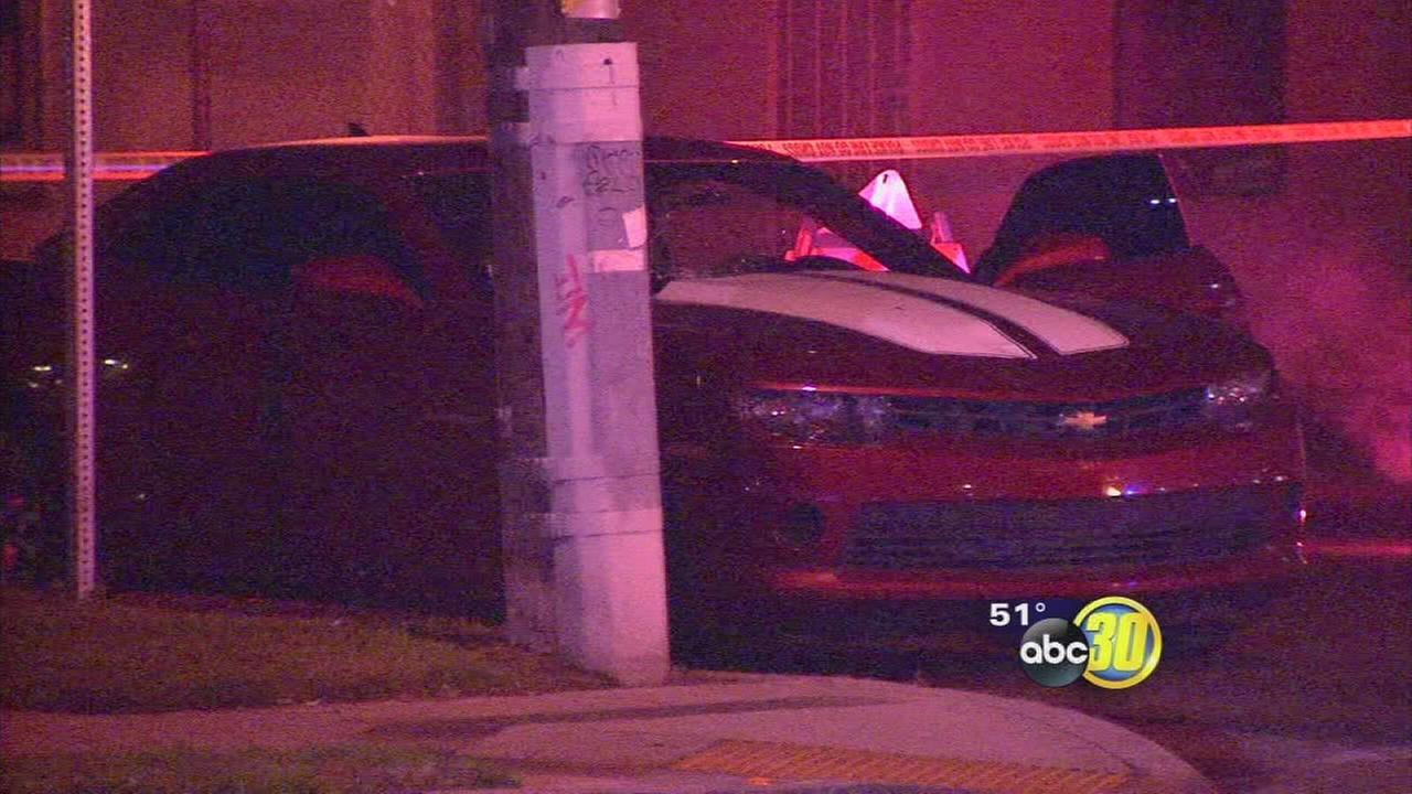 Man in his 70s hit by car in Central Fresno