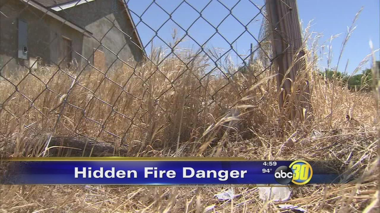 Fresno uses courts to cut down on fire danger