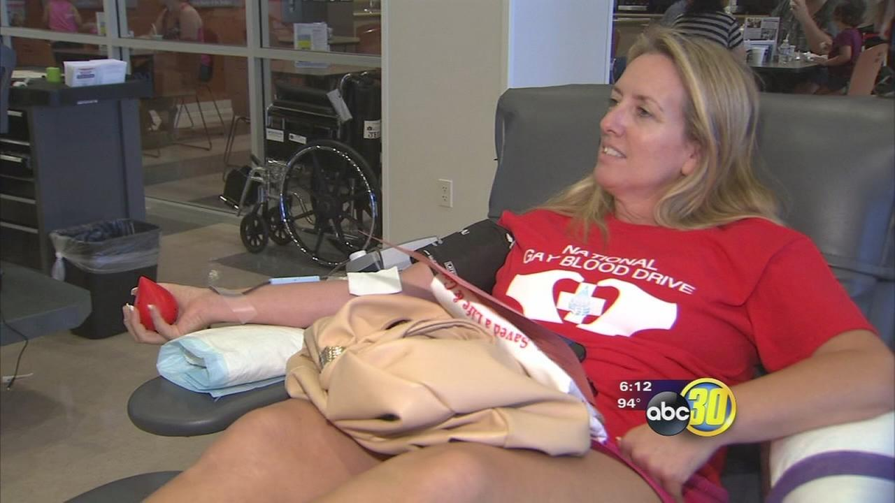Local push to allow gay men to donate blood