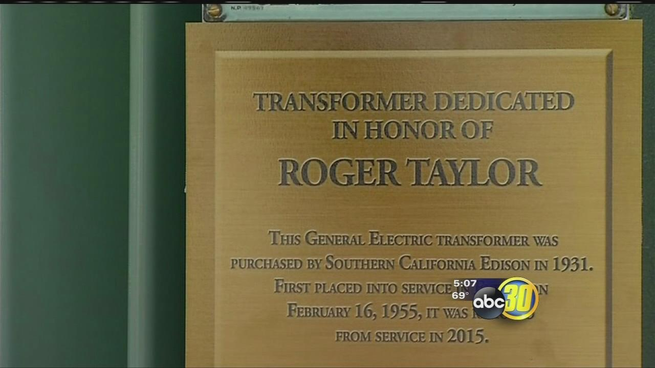 Long time Southern California Edison employee who recently passed away honored in Exeter