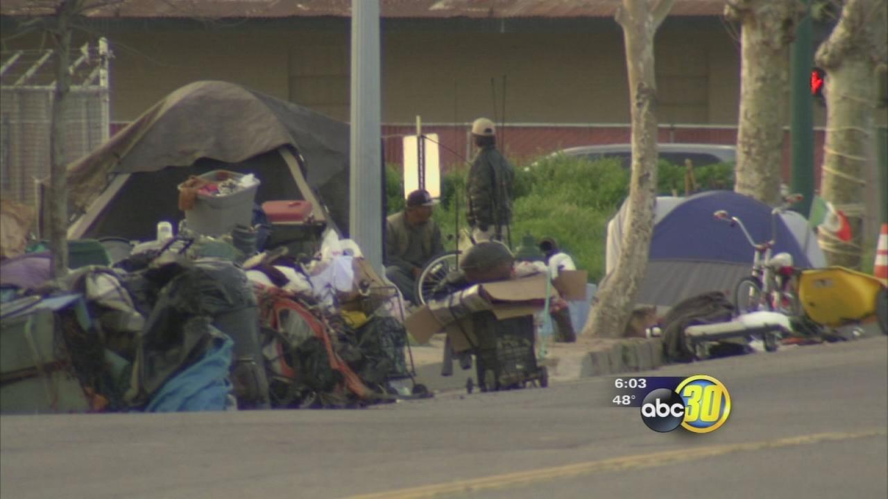 Advocate speaks out after wave of violence against homeless in Fresno